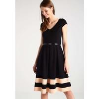 Anna Field Sukienka z dżerseju black/peach whip AN621CAD9