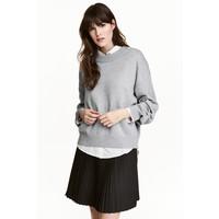 H&M Sweter 0447112004 Grey marl