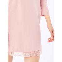 Mohito Sukienka z ozdobną gipiurą QW576-39X