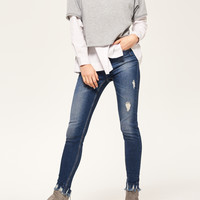 Reserved Jeansy SLIM FIT PQ480-59J