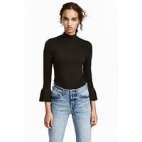 H&M Cienki sweter 0459710002 Czarny