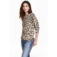 H&M Cienki sweter 0491073001 Panterka