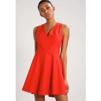 Sisley Sukienka letnia red 7SI21C064