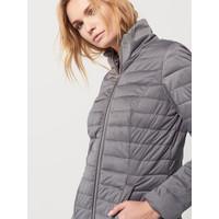 Mohito Długi pikowany płaszcz RC546-09X