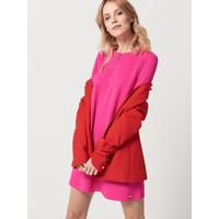 Mohito Różowa sukienka z długim rękawem RA688-43X