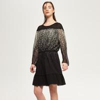 Reserved Sukienka we wzory QX601-99X