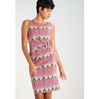 Anna Field Sukienka z dżerseju pink/brown AN621CAEN