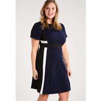 Dorothy Perkins Curve Sukienka letnia navy/black DP621C04V