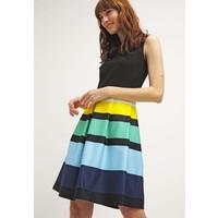 Anna Field Sukienka z dżerseju black/yellow AN621CA6D