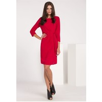 Monnari Wieczorowa sukienka z wiązaniem SUKIMP0-16J-DRE2140-K005D000-R36