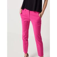 Mohito Różowe spodnie z prostą nogawką RT429-43X