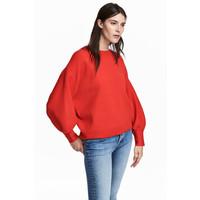 H&M Sweter 0519712003 Czerwony