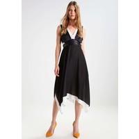 Sisley Długa sukienka black 7SI21C06P