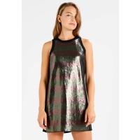 Sisley DRESS Sukienka koktajlowa black 7SI21C06Q