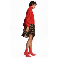H&M Sweter z domieszką kaszmiru 0544915001 Czerwony