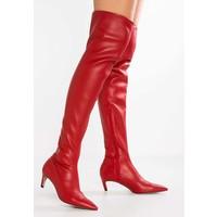 Topshop CRAWLER LEG Muszkieterki red TP711A039