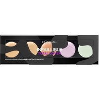 L'Oréal Paris Kosmetyki InfallibleTotalCoverConcealerPalette 10g 100-AKD07P
