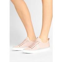 Emporio Armani Sneakersy niskie nude EA811A00N