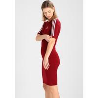 adidas Originals 3 STRIPES DRESS Sukienka etui collegiate burgundy AD121C039