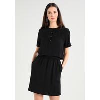 Calvin Klein Jeans DELORES WAISTEDDRESS Sukienka letnia black C1821C024