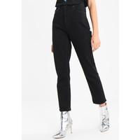 Topshop STRAIGHT Jeansy Straight Leg black TP721N023