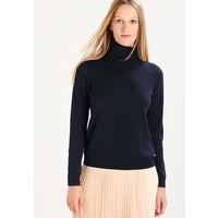 TOM TAILOR DENIM SIMPLE TURTLE NECK Sweter real navy blue TO721I07R