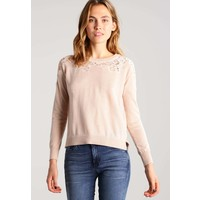 ONLY ONLMAIA Sweter cream tan ON321I0Y4
