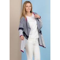 Monnari Prążkowany sweter z wolnymi połami SWEIMP0-18W-SWE0860-KM04D100-R0S