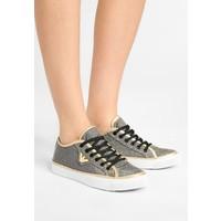Emporio Armani REPEAT GLITTER Sneakersy niskie gold/black glitter EA811A00Q