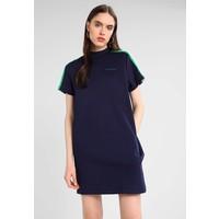 Calvin Klein Jeans SHORT SLEEVE TRACK DRESS Sukienka letnia peacoat C1821C02I