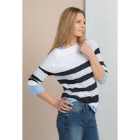 Monnari Ażurowy sweter w paski SWEIMP0-18W-SWE1090-KM00D100-R0S