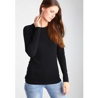 GAP CREW TEE Bluzka z długim rękawem true black GP021D04M