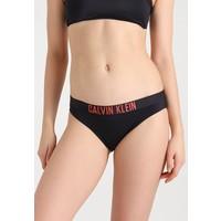 Calvin Klein Swimwear CLASSIC Dół od bikini black/hot coral C1181D00A