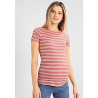 New Look Maternity CHARLIE STRIPE T-shirt z nadrukiem rust N0B29G03I