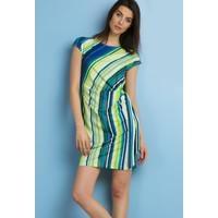 Monnari Sukienka w kolorowe paski SUKPOL0-18L-DRE0740-KM10D700-R36