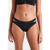 Seafolly ACTIVE SPLIT BAND HIPSTER Dół od bikini black S1941H04O