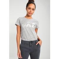 GAP FOIL TEE T-shirt z nadrukiem grey nep GP021D0A6
