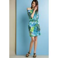 Monnari Sukienka z tropikalnym wzorem SUKPOL0-18L-DRE0580-KM08D700-R36