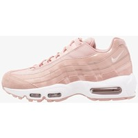 Nike Sportswear AIR MAX Tenisówki i Trampki particle pink/white/siltstone red NI111S01Y