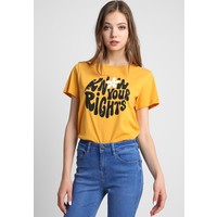 TWINTIP T-shirt z nadrukiem yellow TW421D0AK
