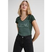 G-Star LIFFY SLIM V TS/S T-shirt z nadrukiem lt hunter GS121D0EG