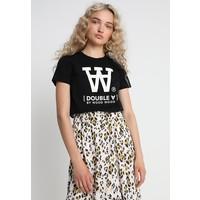 Wood Wood UMA T-shirt z nadrukiem black WO421D00X