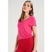 Kaffe ANNA O NECK T-shirt basic fuchsia rose KA321D04K