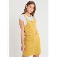 Pieces PCBECKY DRESS Sukienka letnia nugget gold PE321C07B