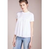 BOSS CASUAL TERCOOL T-shirt z nadrukiem white BO121D078