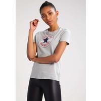 Converse CORE SOLID CHUCK PATCH CREW T-shirt z nadrukiem charcoal CO421D04A