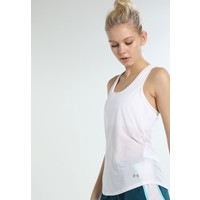 Under Armour THREADBORNE RUN TANK Koszulka sportowa white UN241D01N