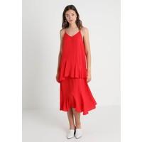 Vila VIJADYN MIDI DRESS Długa sukienka racing red V1021C15U