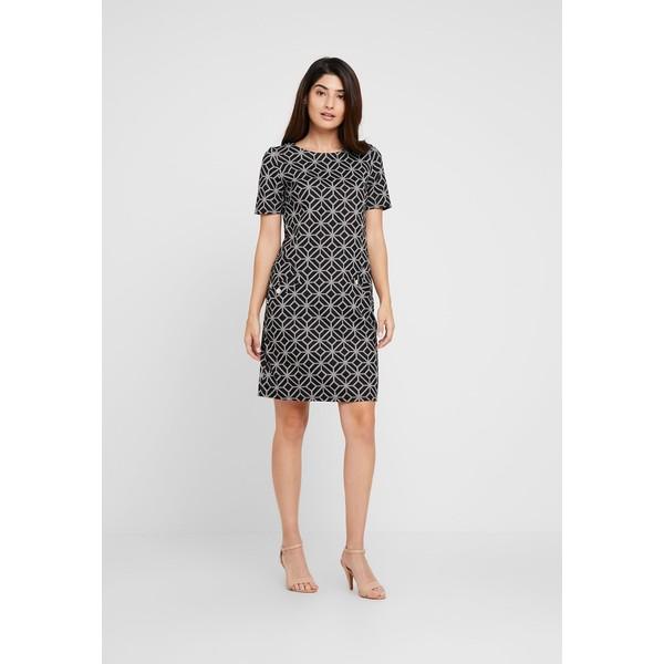 Wallis Petite GEO DRESS Sukienka z dżerseju grey WP021C06E