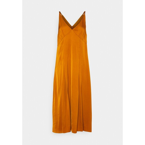 Paul Smith WOMENS DRESS Sukienka koktajlowa orange PS921C013